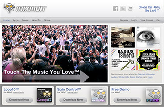 Mixman had a re-launch in 2012 after closing a major licensing deal with Intel, cross-selling on Intel's App Store. Software was optimized for latest Intel processors, and export to SoundCloud/Facebook was added.